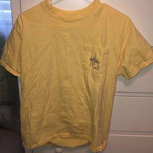 Men's guy Harvey yellow shirt good condition